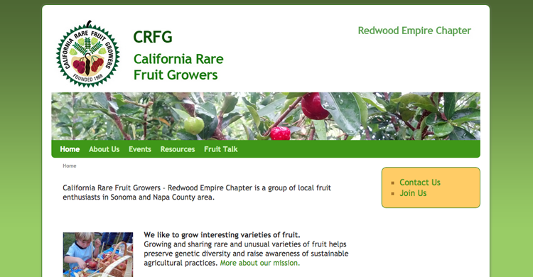 CRFG - Redwood Chapter